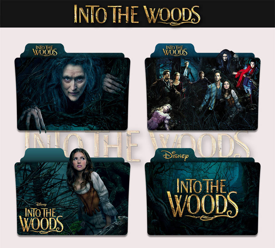 Into The Woods 2014 Folder Icon By Sonerbyzt On Deviantart