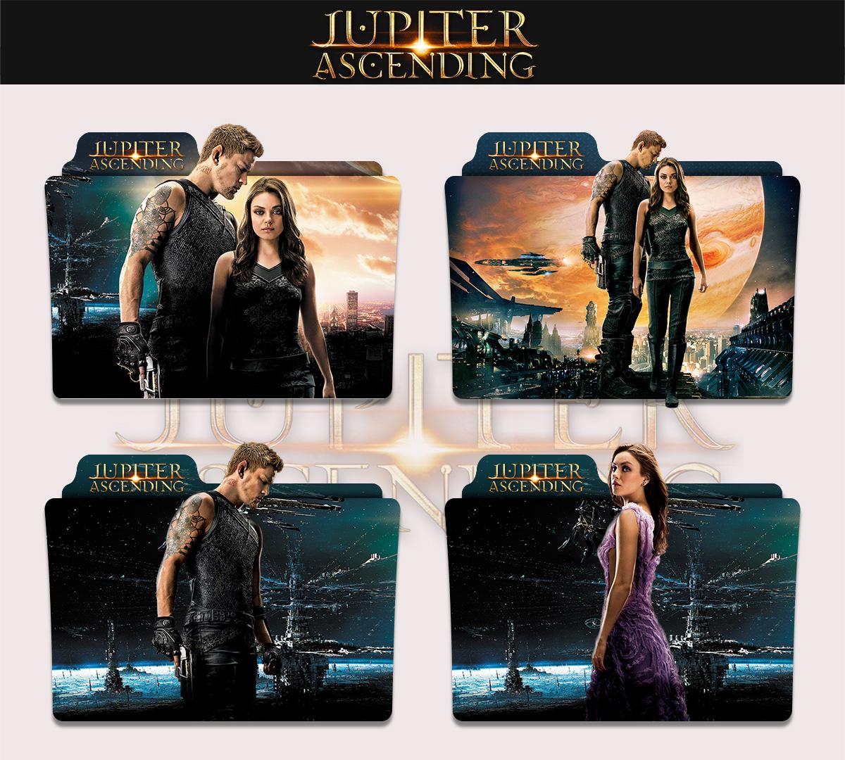 Jupiter Ascending 2015 Folder Icon By Sonerbyzt On Deviantart