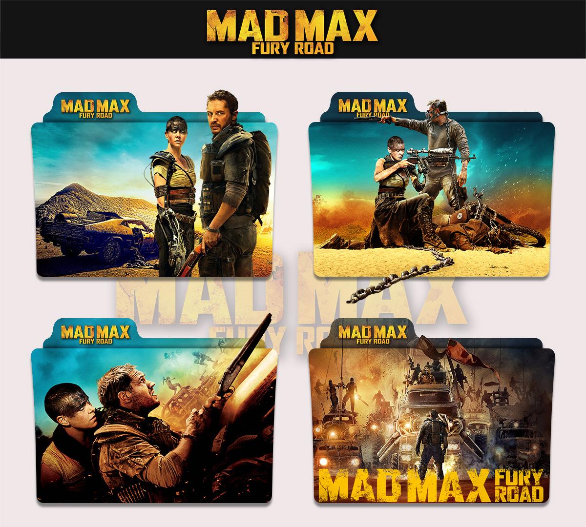 Mad Max Fury Road 2015 Folder Icon By Sonerbyzt On Deviantart