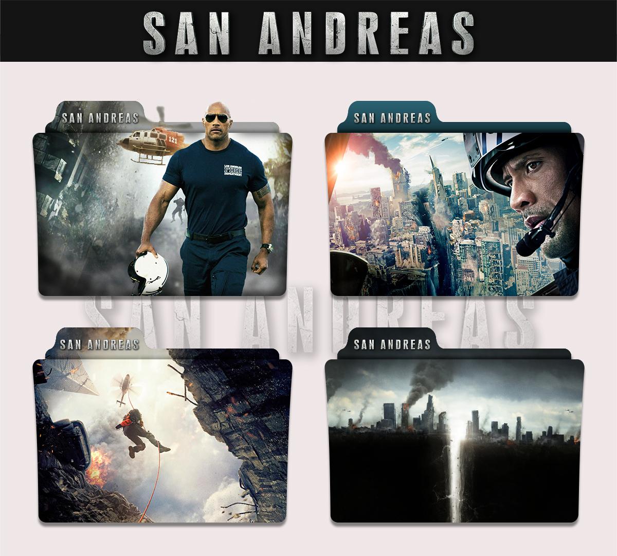 San Andreas 2015 Folder Icon By Sonerbyzt On Deviantart