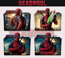 Deadpool 2016 Folder Icon by sonerbyzt