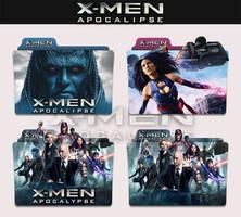 X-Men : Apocalypse 2016 Folder Icon by sonerbyzt