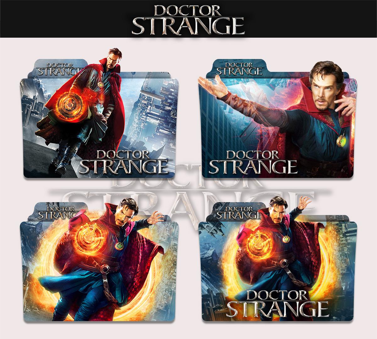 Doctor Strange 2016 Folder Icon By Sonerbyzt On Deviantart