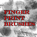finger print brushes by Arkangel007
