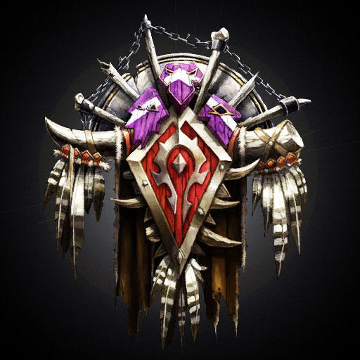 World of Warcraft Horde Icon by SimplyEricJames