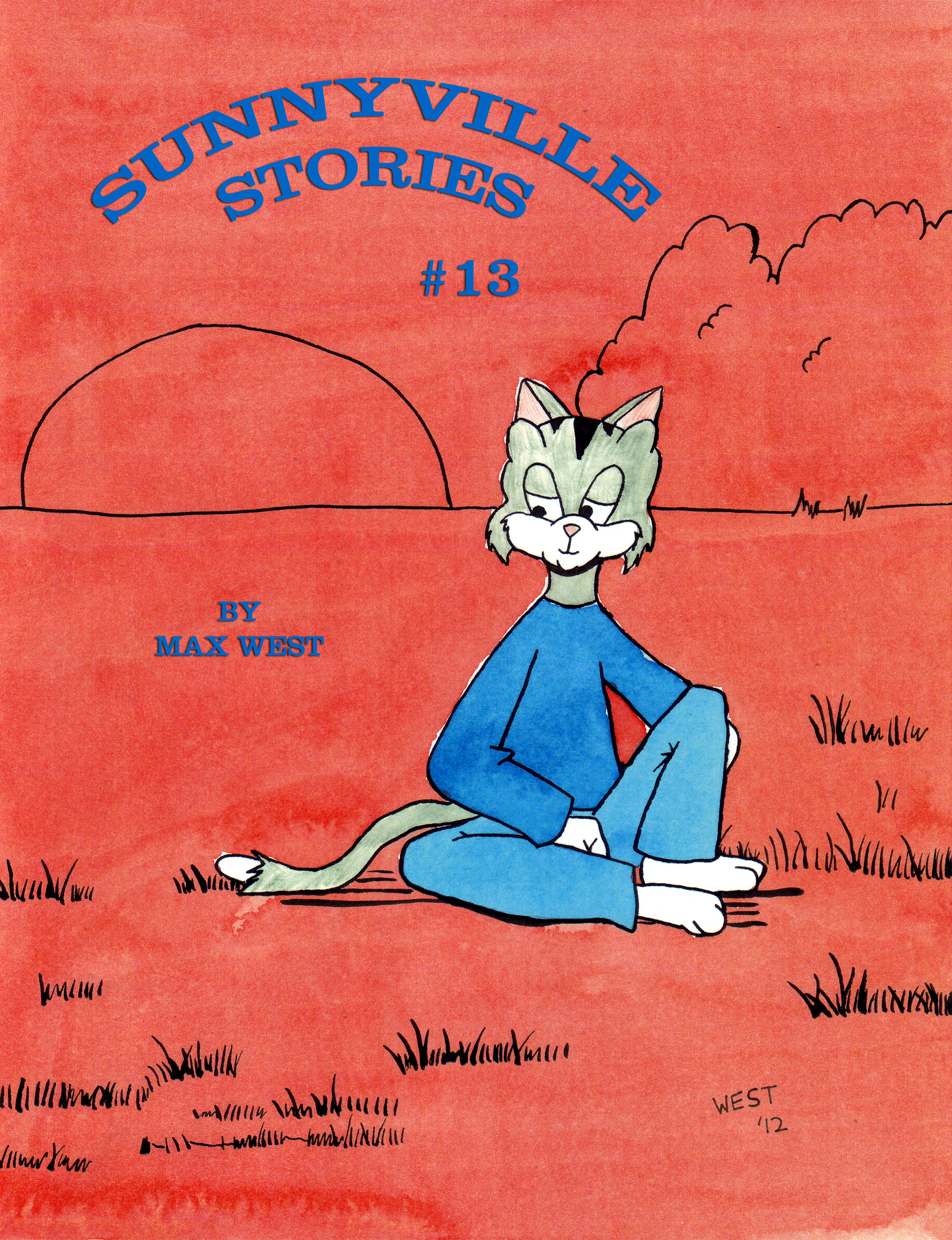Sunnyville Stories #13 Cover