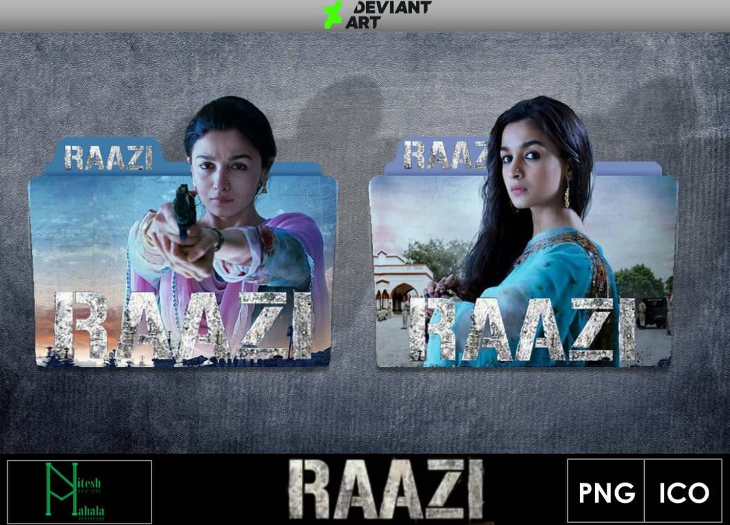 Raazi 2018 Movie Folder Icons By Niteshmahala On Deviantart