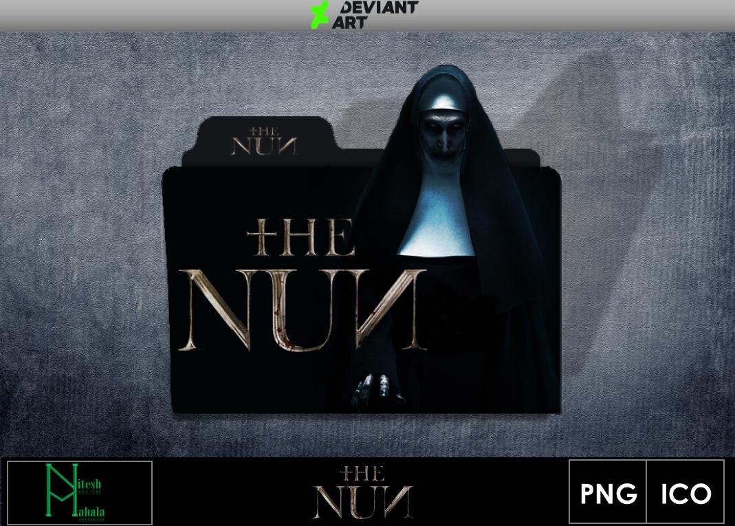 The Nun 2018 Movie Folder Icon By Niteshmahala On Deviantart
