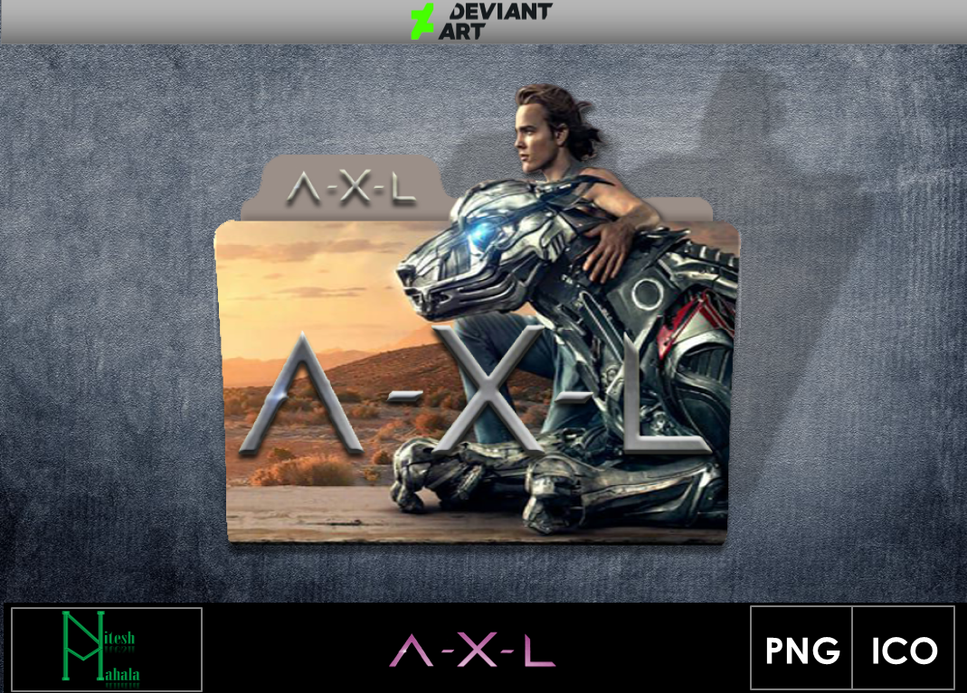Axl Movie 2018 a-x-l (2018) movie folder iconniteshmahala on deviantart