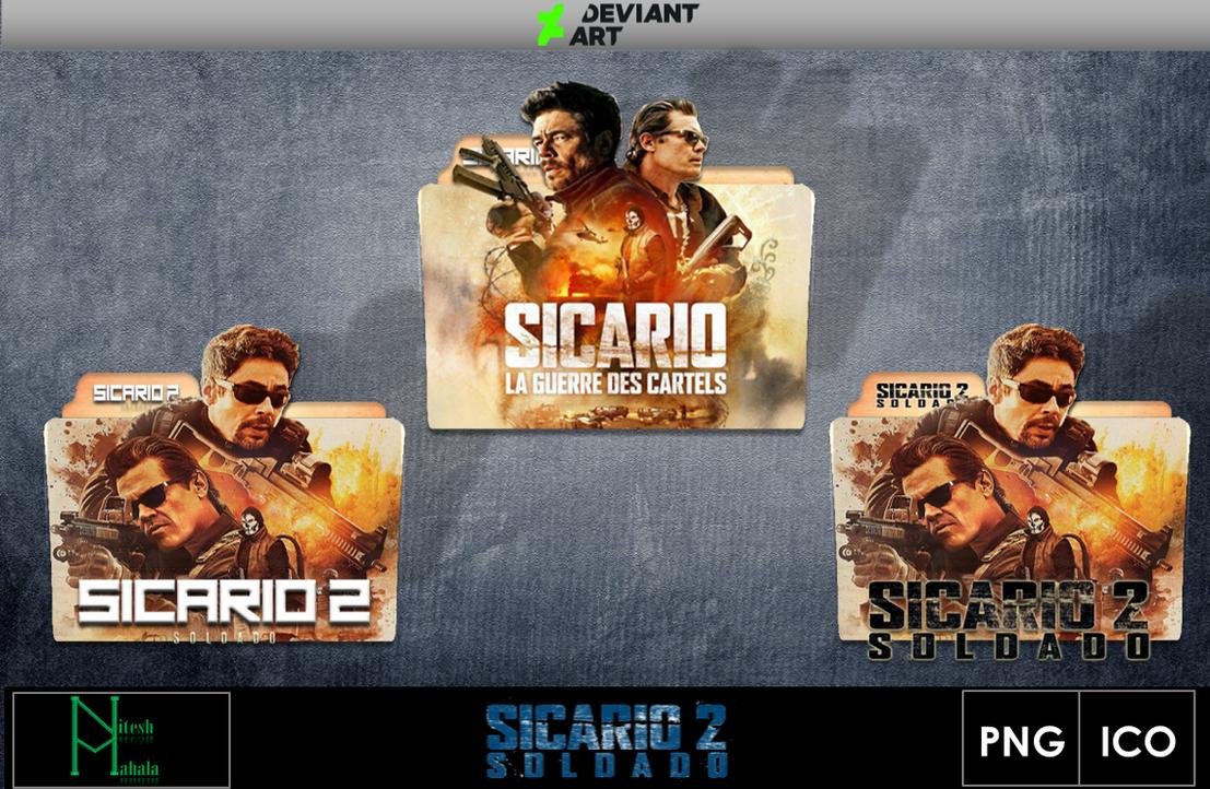 Sicario 2 2018 movie folder icons by niteshmahala on - Sicario 2 wallpaper ...