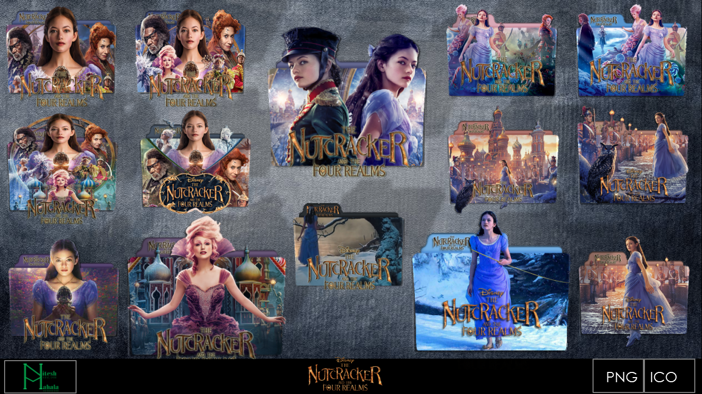 Nutcracker And The Four Realms 2018 Icons By Niteshmahala On Deviantart