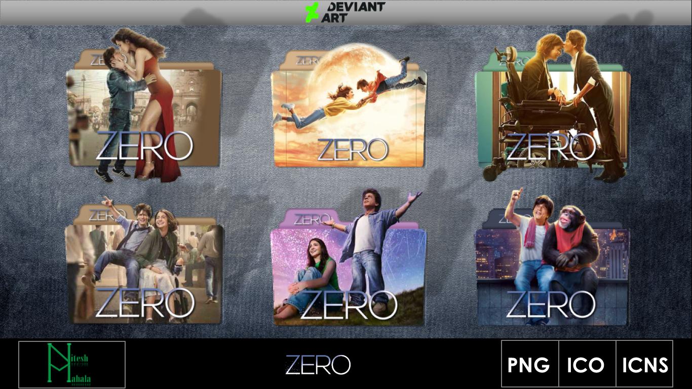 Zero 2018 Movie Folder Icons By Niteshmahala On Deviantart