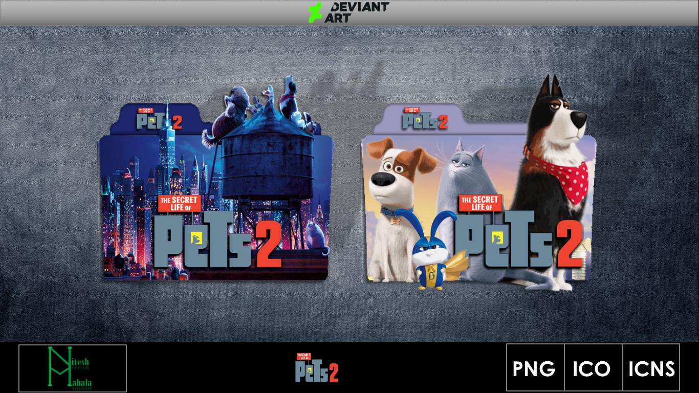 The Secret Life Of Pets 2 2019 Movie Folder Icon By Niteshmahala On Deviantart