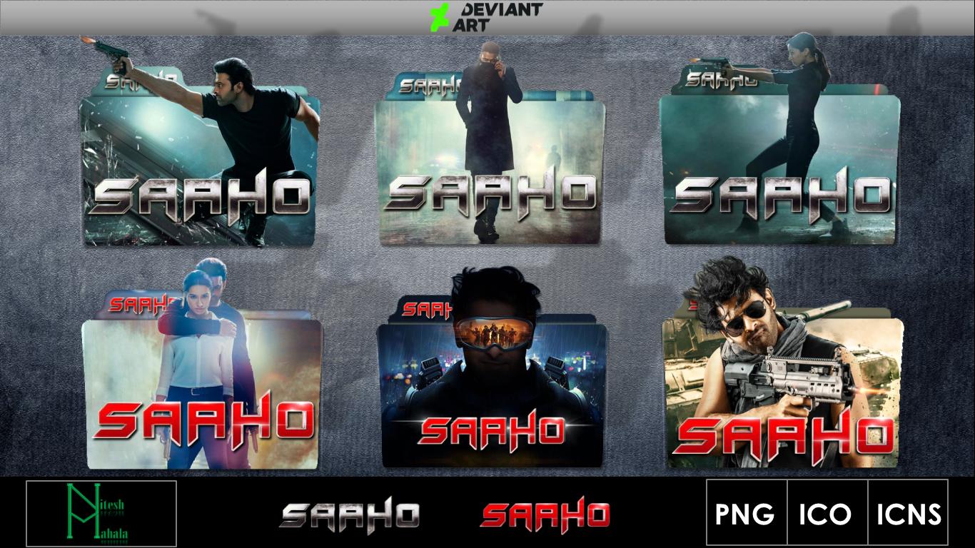 Sahoo 2019 Movie Folder Icons Pack 3 By Niteshmahala On Deviantart
