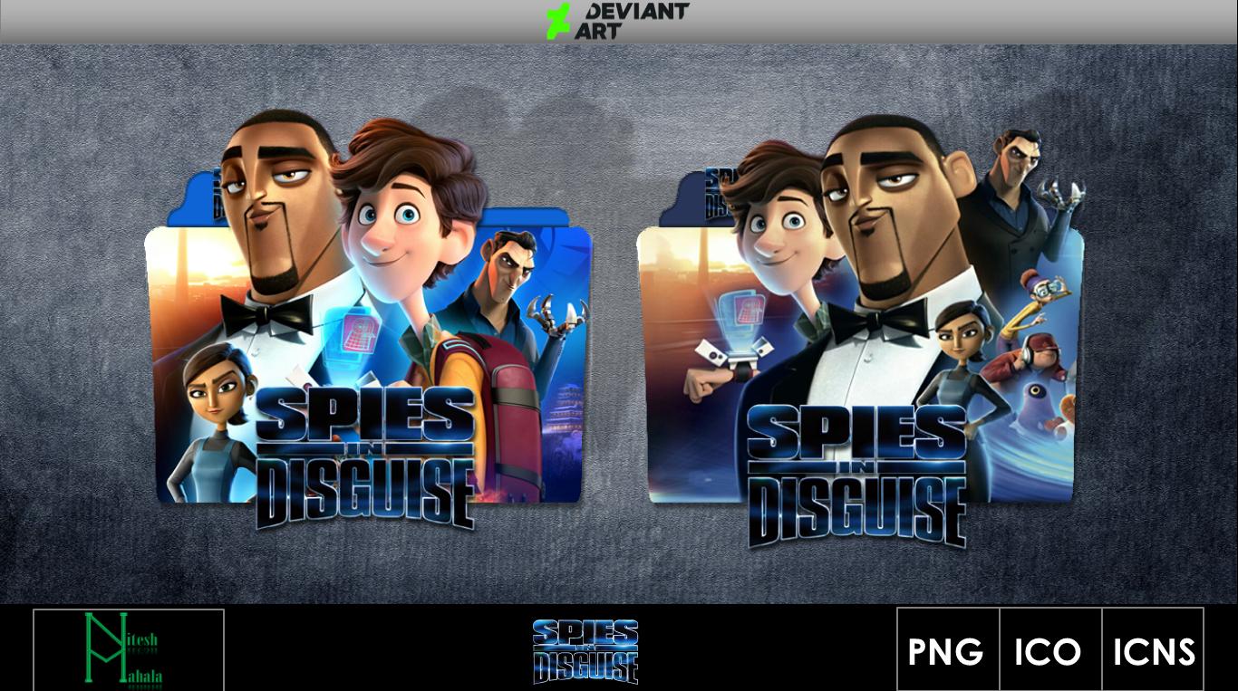 Spies In Disguise 2019 Movie Folder Icon By Niteshmahala On Deviantart