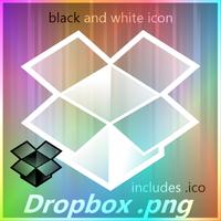 Dropbox Black and White by GamerWorld14