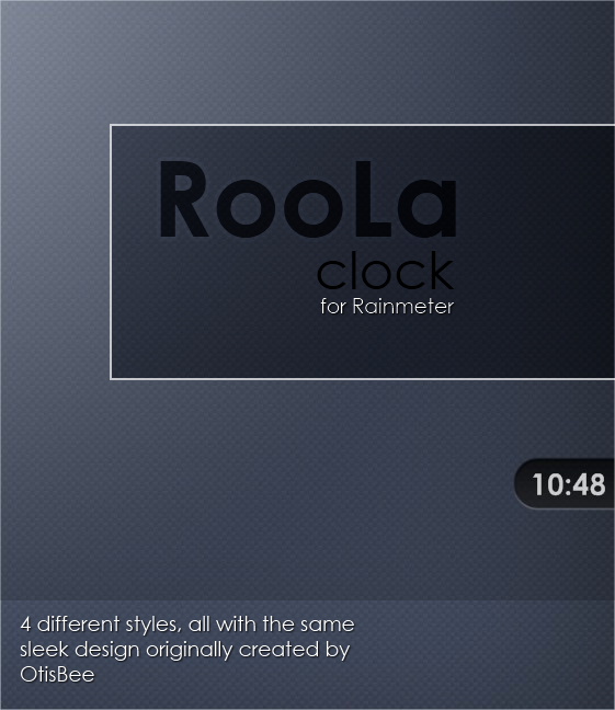 RooLa Clock by GamerWorld14