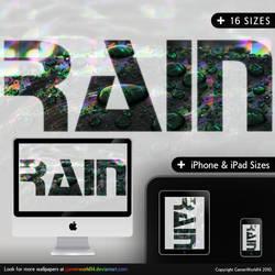 RAIN wallpaper Pack