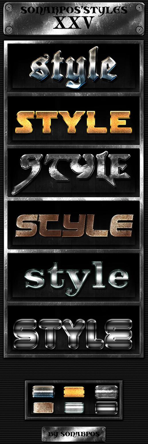 Sonarpos'styles 25 by sonarpos