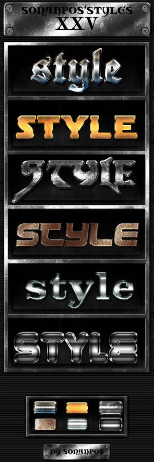 Sonarpos'styles 25