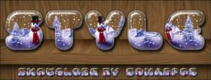 snowglobe style