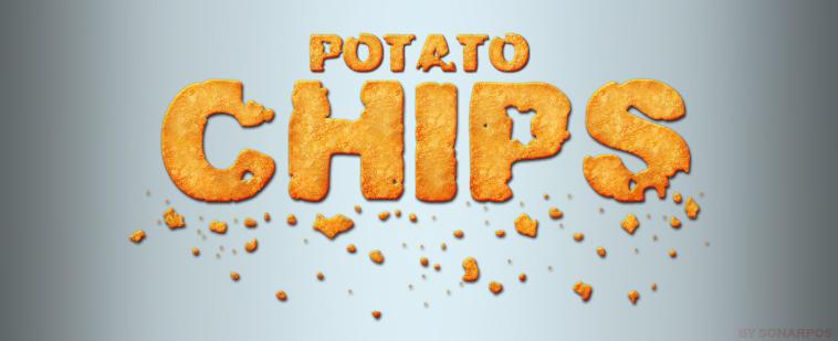 Potato chips style by sonarpos
