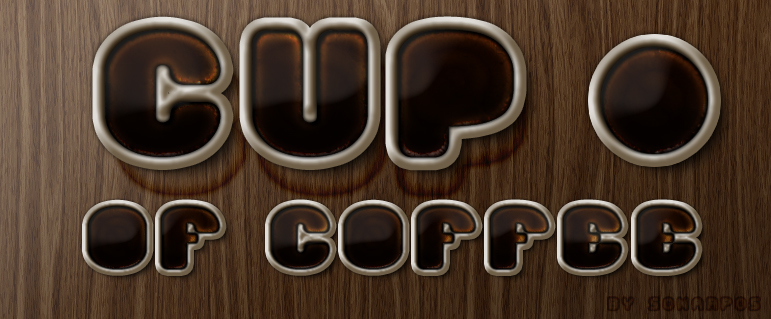 Cup of coffee style