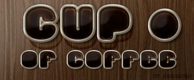Cup of coffee style by sonarpos