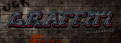 graffiti style by sonarpos