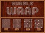 Bubble wrap style + pattern