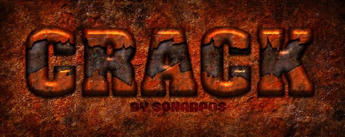 Crack style by sonarpos