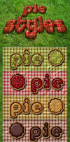 Pie styles