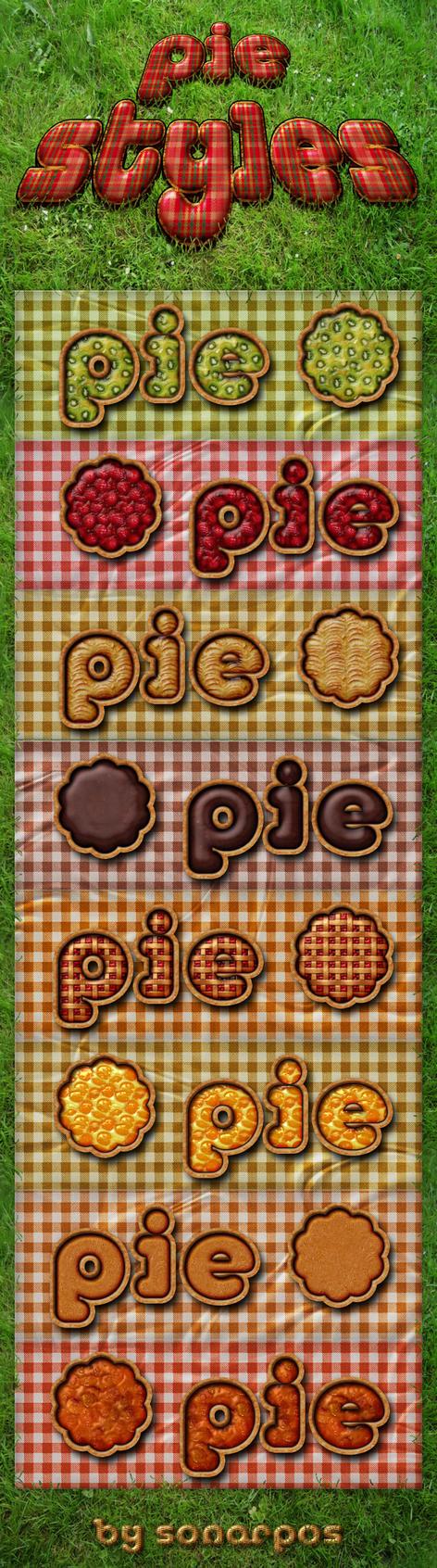 Pie styles by sonarpos