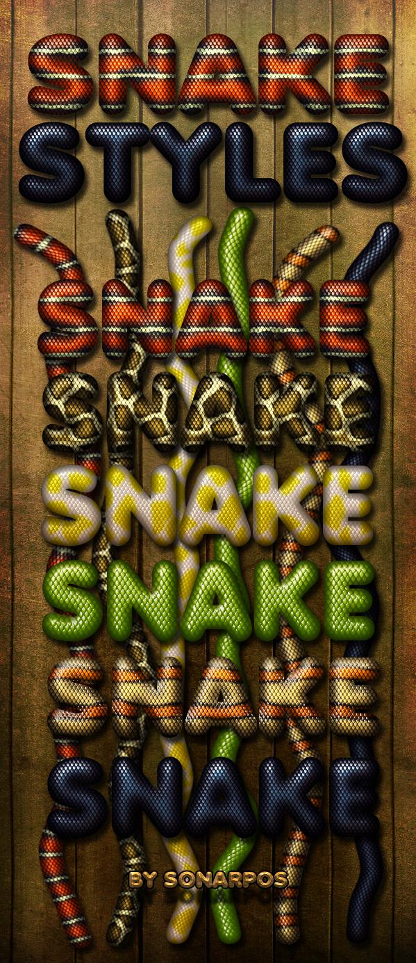 Snake styles by sonarpos