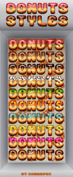 Donuts styles by sonarpos