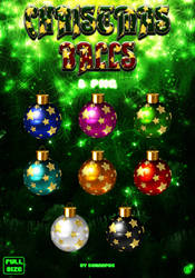 Christmas balls by sonarpos