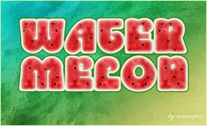 Watermelon style by sonarpos