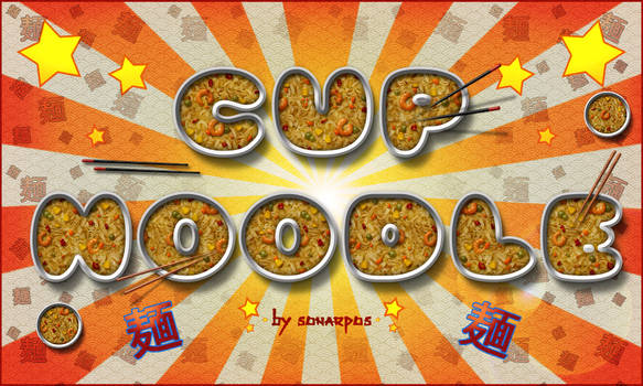 Cup noodle style