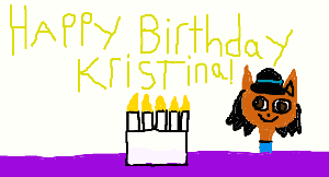 happy birthday kristina