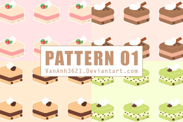 [SHARE] 170804 /// PACK PATTERN 01 by VanAnh3621