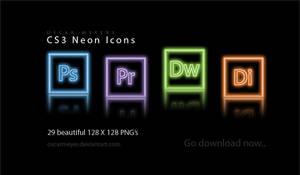 CS3 Neon Icons