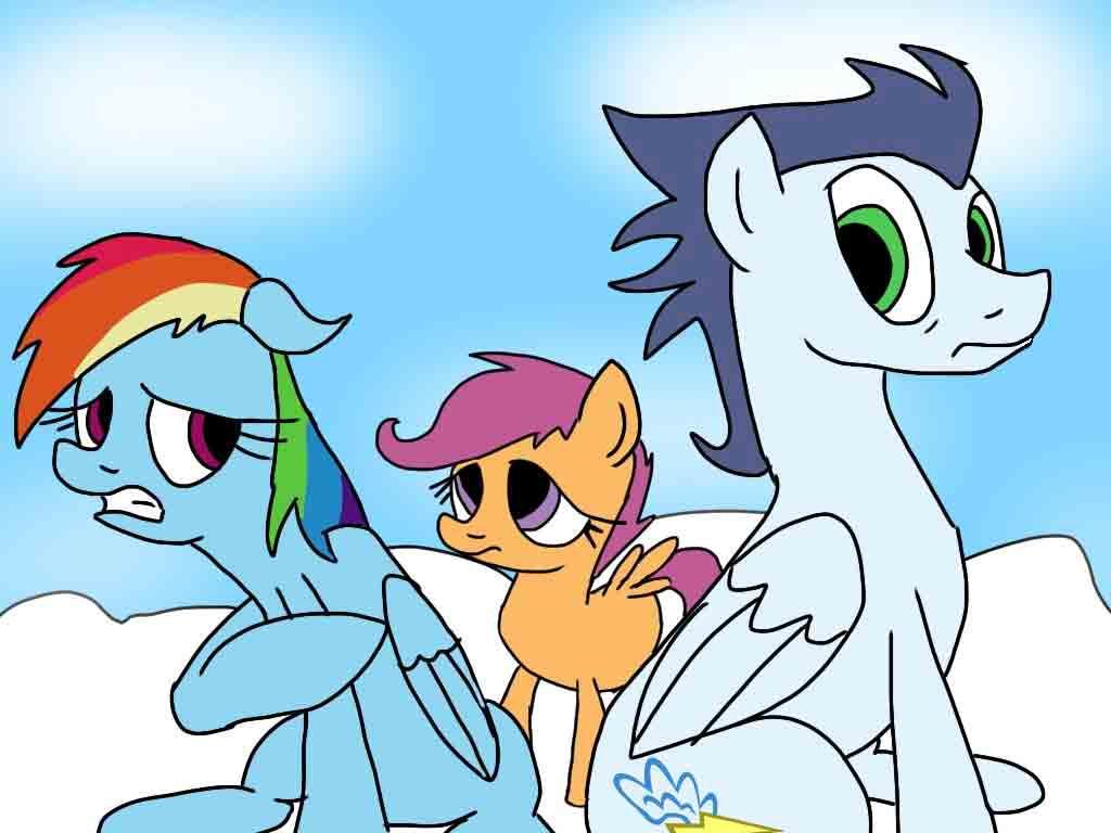 Rainbow Dash And Applejack Clopfic