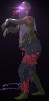Side Scroller 2D Game Creatives- Zombie_01