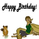 Happy Birthday Cosmic!!