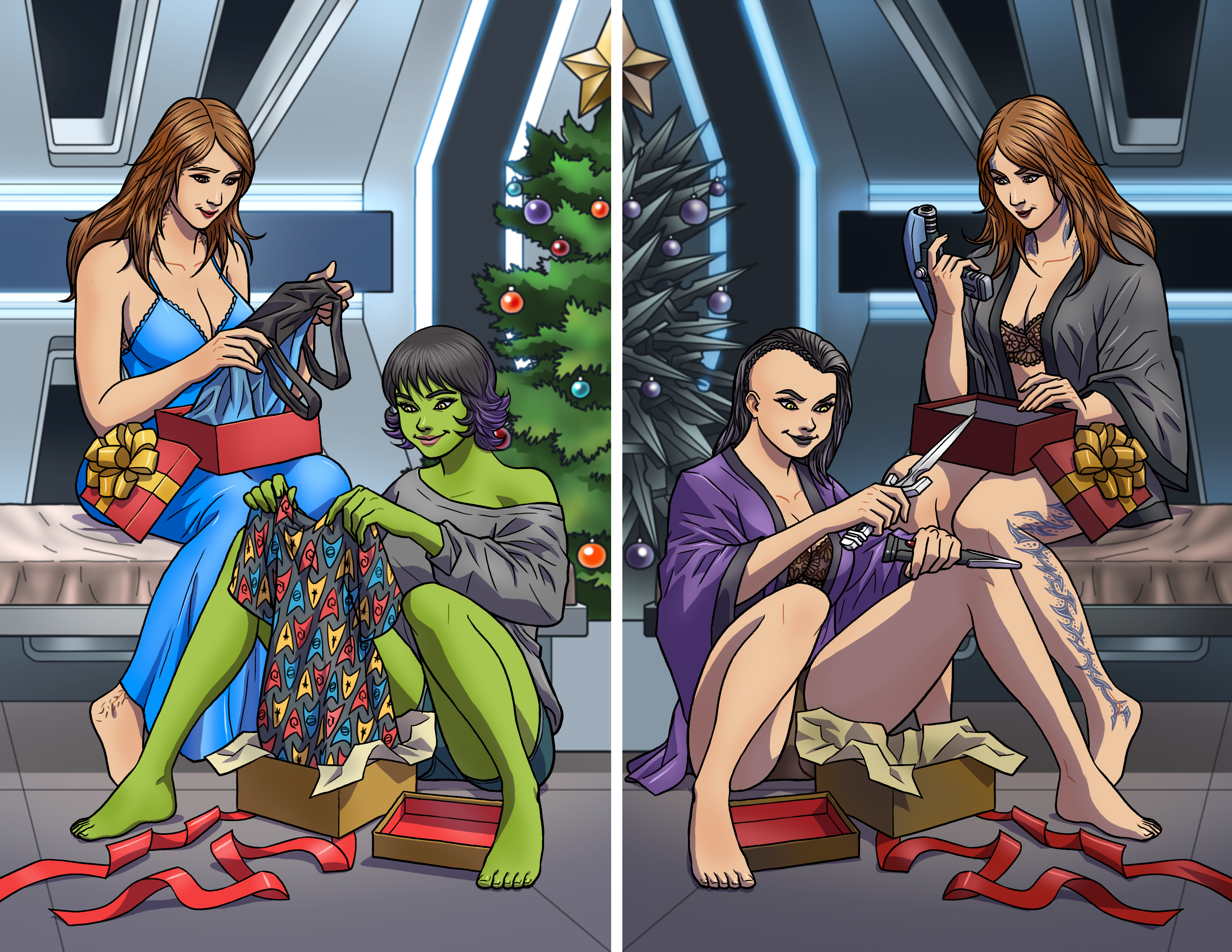 Mirror Christmas