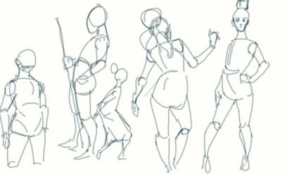 Early Morning Gesture Work