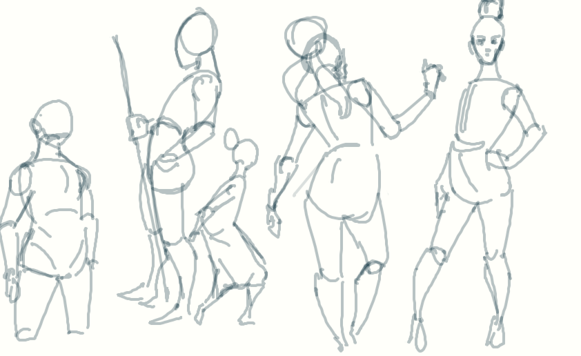 Early Morning Gesture Work by ArtiestDesign