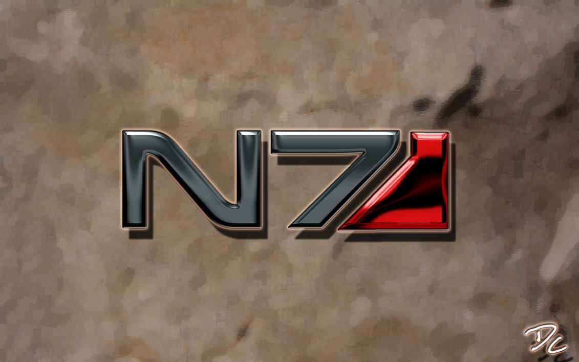 Mass Effect N7 by DoggyCorner