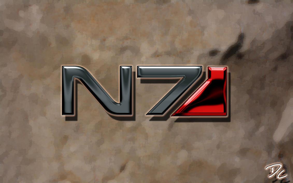 Mass Effect N7 by DoggyCorner