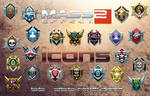 Mass Effect 2 Icons